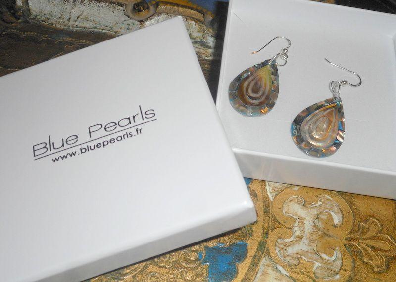 Sublime abalone.... Petites merveilles signées &quot&#x3B;BluePearls&quot&#x3B;!