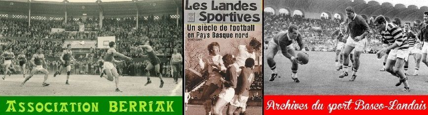 Archives du sport Basco-Landais