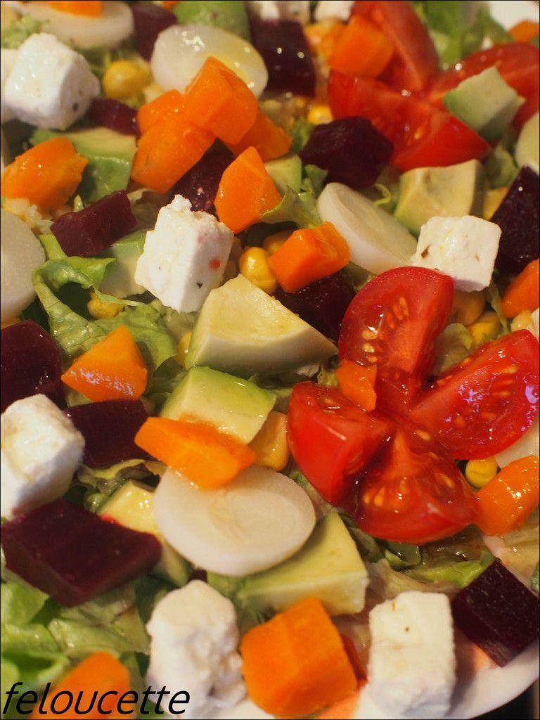 salade meli-melo