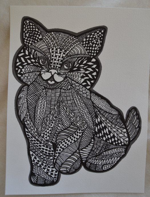 Zentangles : mes gribouillages