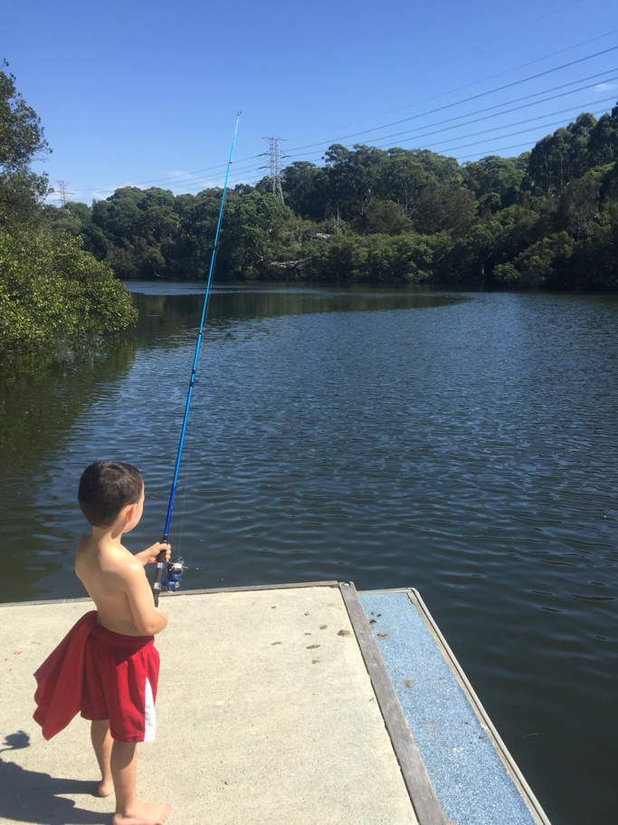 Session pêche avec daddy