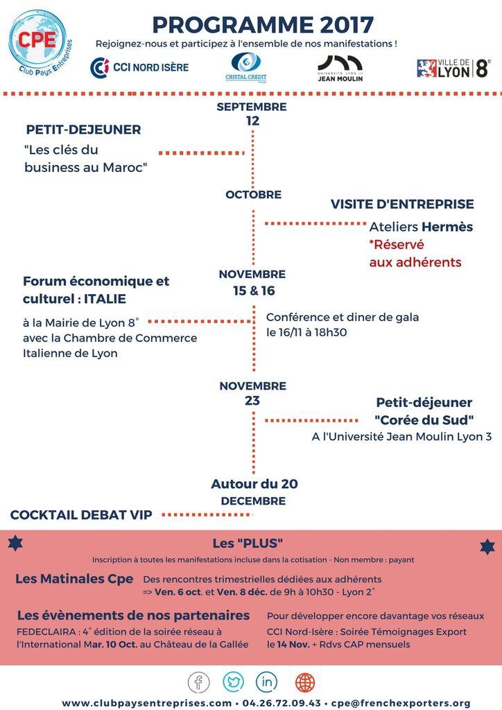 Agenda   Le Blog Du Club Pays Entreprises
