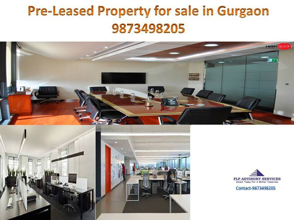 Pre Leased Office space for sale on Golf course road Gurgaon