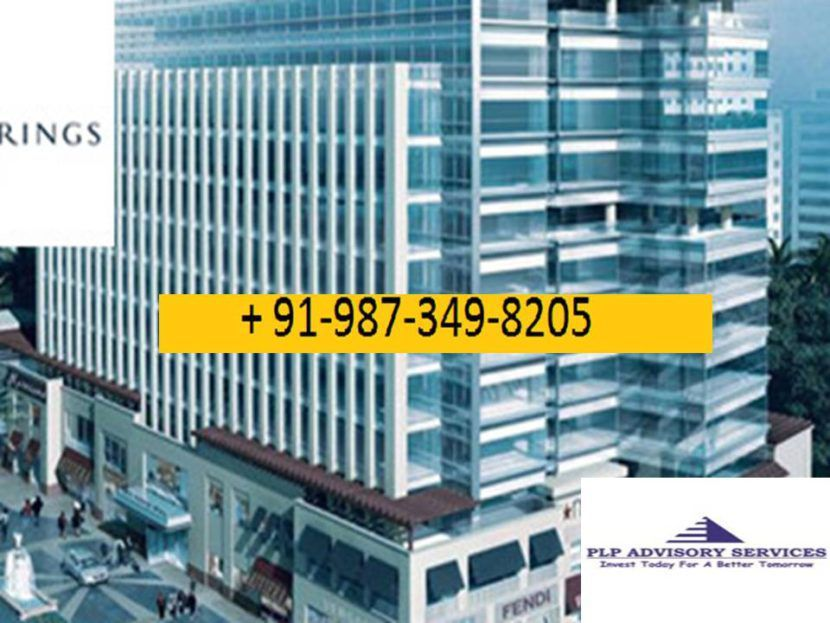 pre rented commercial property for sale in Palm spring plaza gurgaon