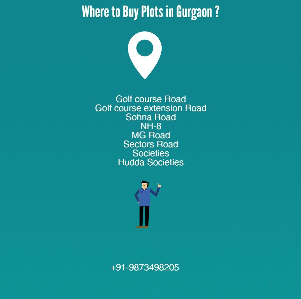 Locations for buying plots in Gurgaon