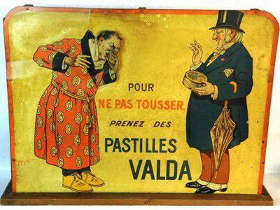 Pastilles VALDA ... Gomme Arabique ... et Sénégal !