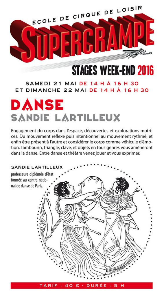 STAGE WEEKEND... DANSE