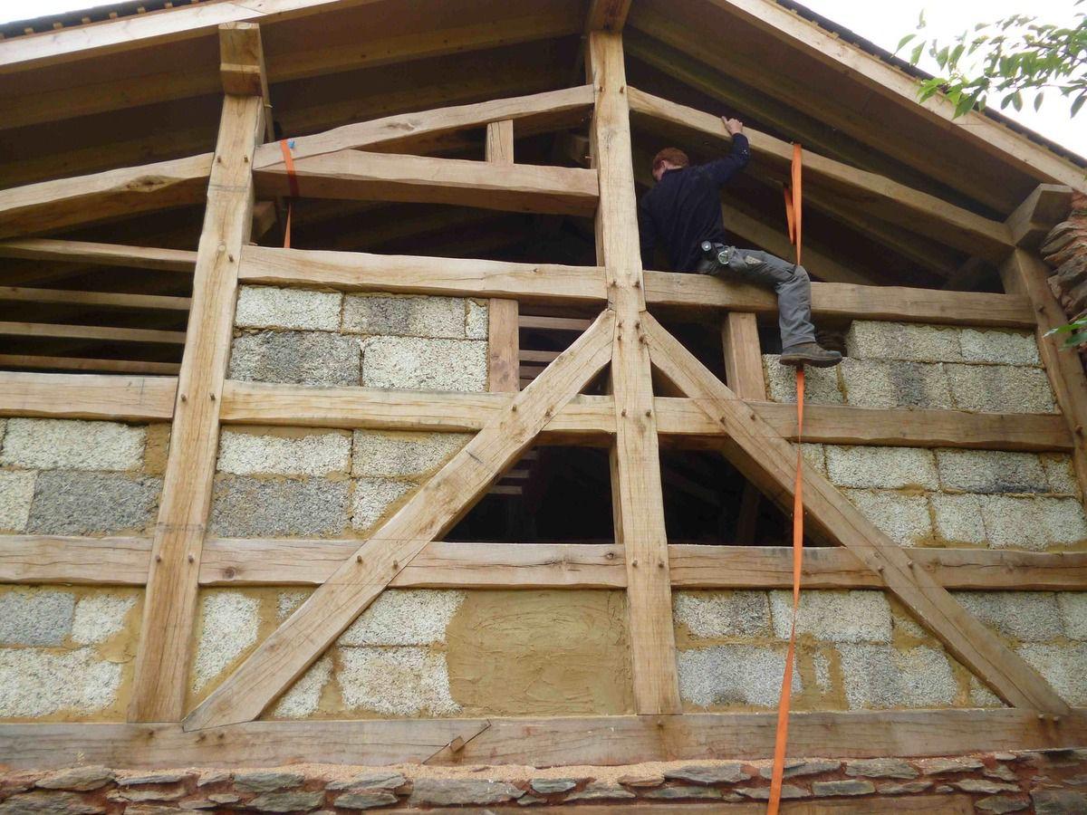 Le chaux chanvre le blog de vernaterre - Doublage de murs interieurs ...