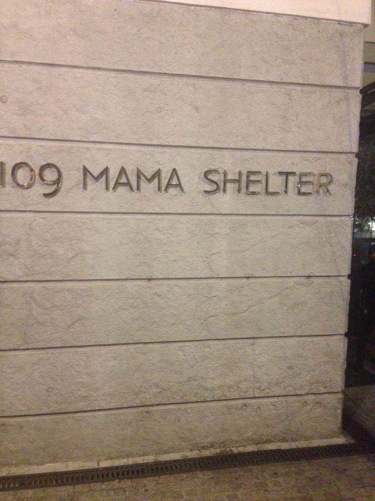 Date au mama shelter