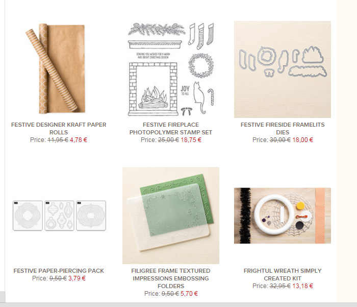 STAMPIN'UP PROMOTIONS CATALOGUE AUTOMNE HIVER