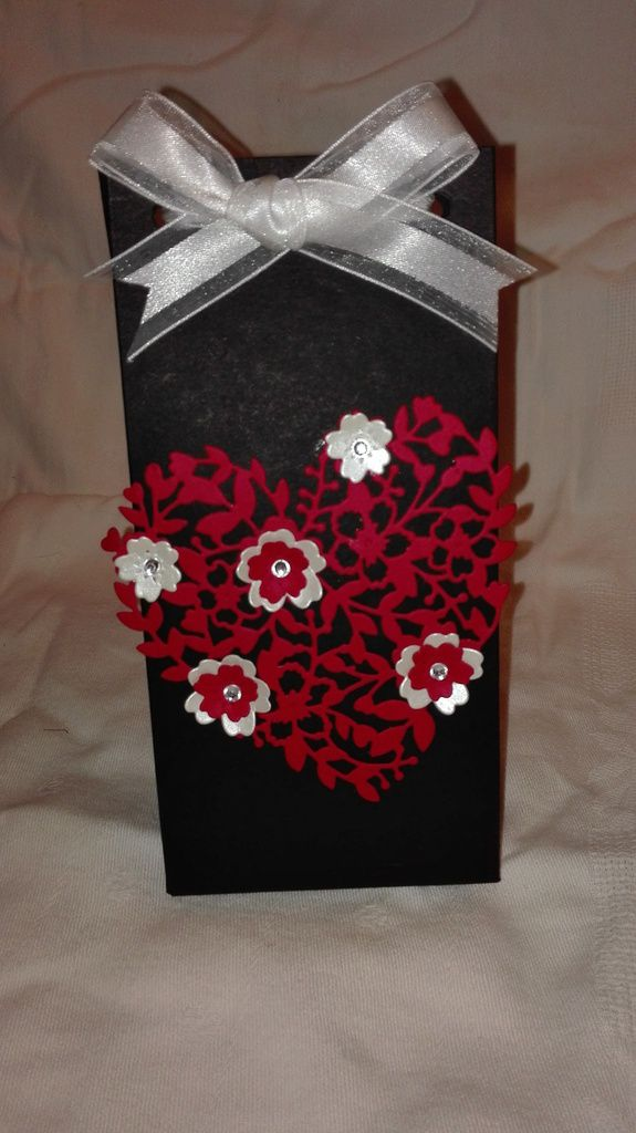 stampin'up bloomin'heart thinlits