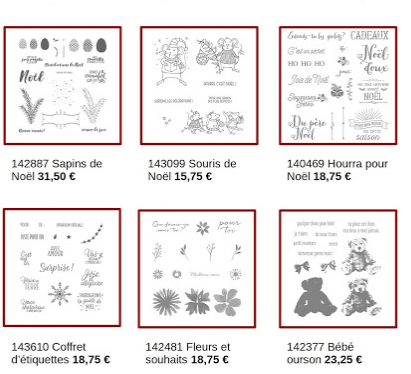 STAMPIN'UP PROMOTION DE NOVEMBRE