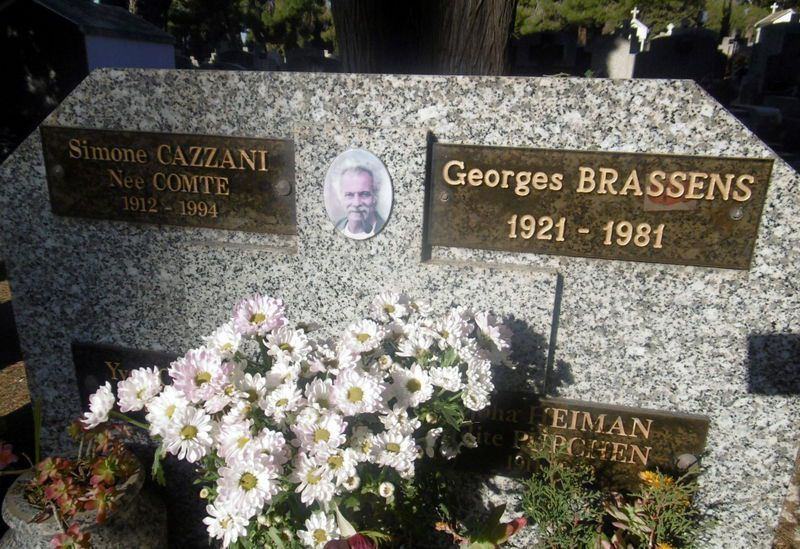 """Brassens c'est un poète de la pléiade"" Nougaro"