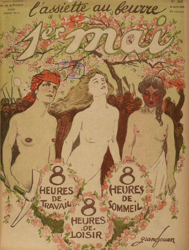Couverture du n°265 de l'Assiette au beurre du 28 avril 1906 - Illustration Jules Grandjouan - BNF