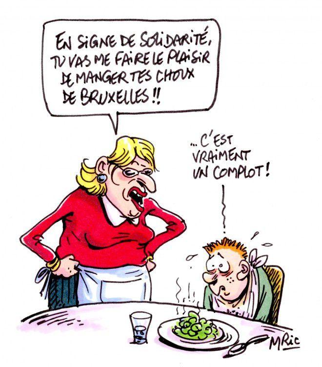 1 - Mric pour Marianne   2 - La Libre Belgique   3 - Djony pour Marianne