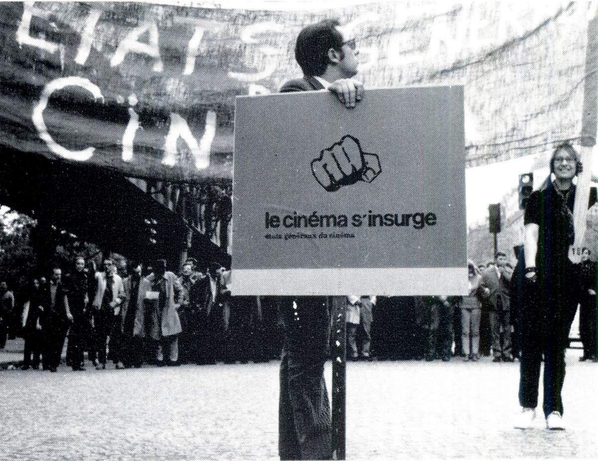 Etats généraux du cinéma - Le cinéma s'insurge - N°1 - La pancarte des Etats Généraux du cinéma