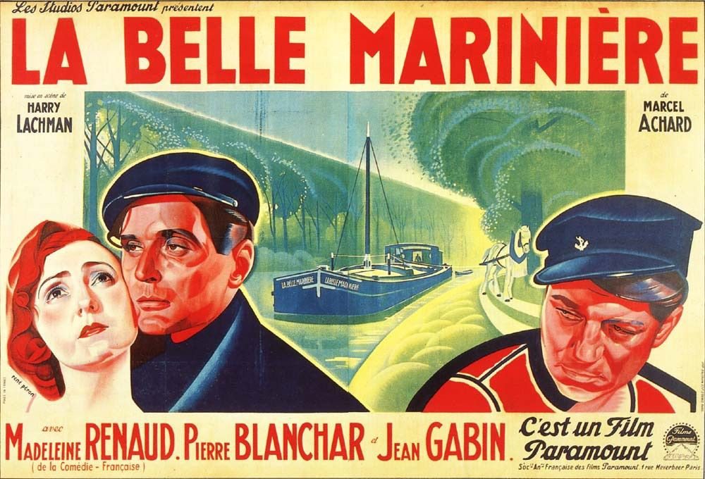 La belle marinière - (source : celluloid-angels) - Affiche de René Peron