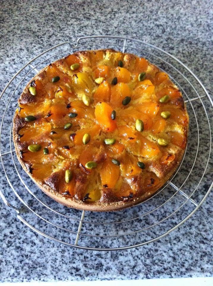 Tarte abricot amande pistache CAP patisserie