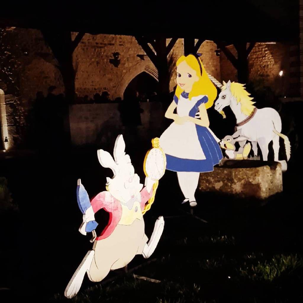 Alice et ses copains, le lapin et la licorne