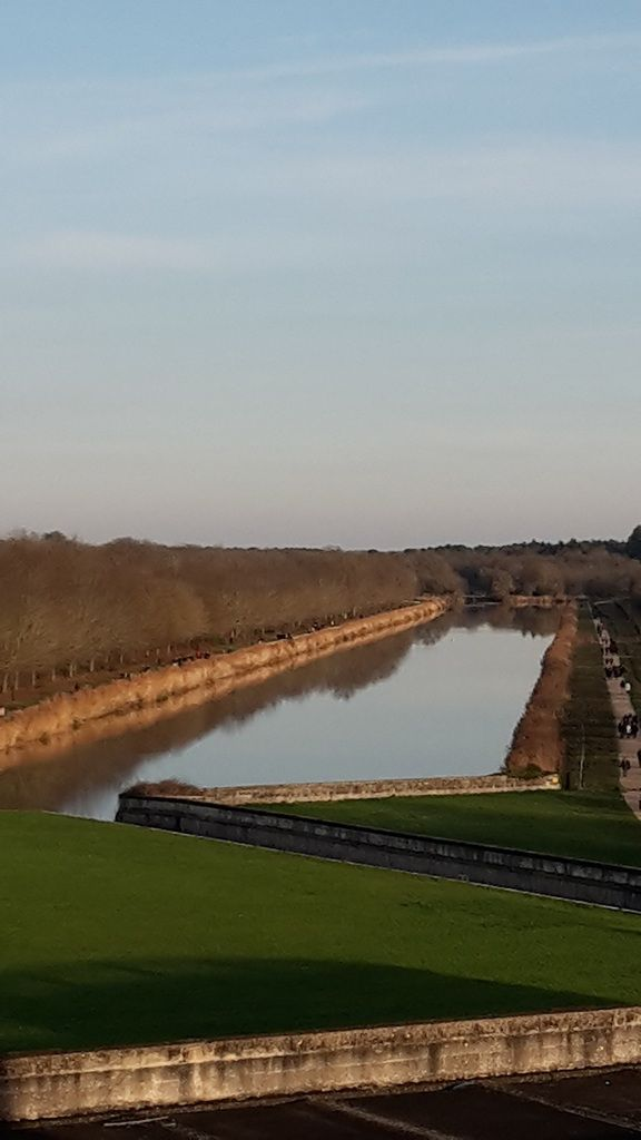 Chambord le canal