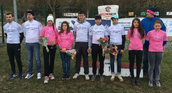 4 - Classements finaux du challenge d'Île de France de cyclo-cross 2015-2016