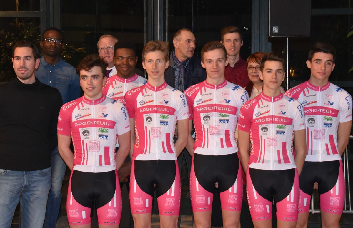 L'équipe juniors 2017 d'Argenteuil Val de Seine 95