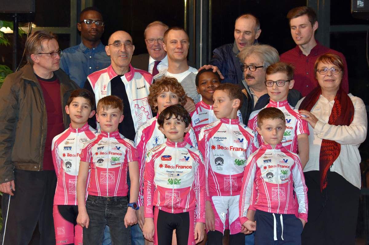 L'école de vélo Argenteuil Val de Seine 95 - 2017