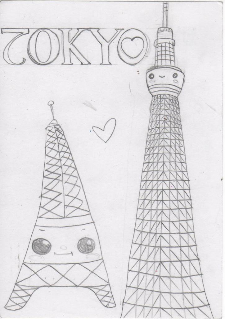 Projet de livre illustré sur Tokyo