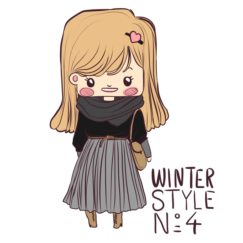 5 Winter styles ! ♥