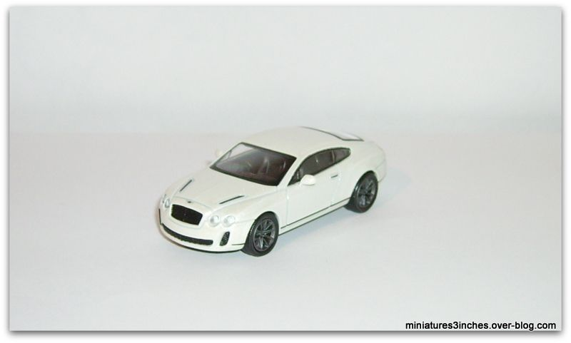 Bentley Continental Supersports &quot&#x3B;coupé et cabriolet&quot&#x3B;  by  Kyosho