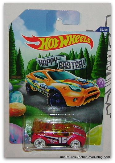 Série &quot&#x3B;Happy Easter&quot&#x3B;  collector 2015 by  Hot Wheels.