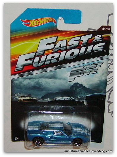 Série &quot&#x3B;Fast and Furious&quot&#x3B;  collector 2015 by  Hot Wheels.