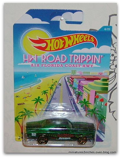 Série &quot&#x3B;Road Trippin' &quot&#x3B;  collector 2015 by  Hot Wheels.