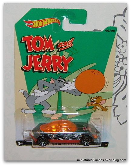 Série &quot&#x3B;Tom et Jerry&quot&#x3B;  collector 2015   by  Hot Wheels.