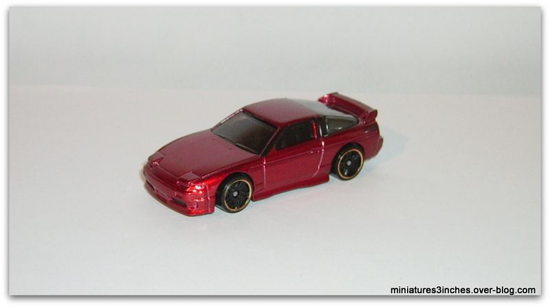 NISSAN 180SX typeX 1996 by  Hot Wheels.