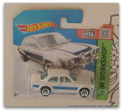 '70 Ford Escort RS 1600  by Hot Wheels.