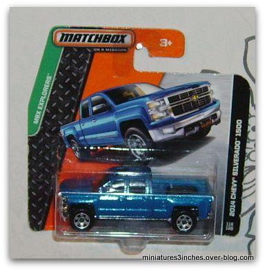 Chevy '14 Silverado 1500  by  Matchbox.