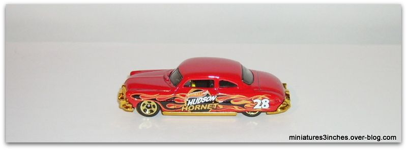 Hudson Hornet 1952  by Hot Wheels.