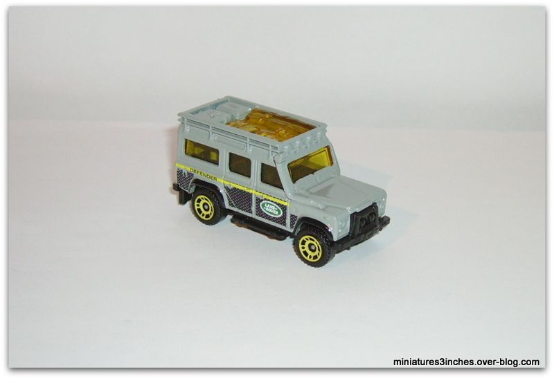 Land Rover Defender 110  by  Matchbox.