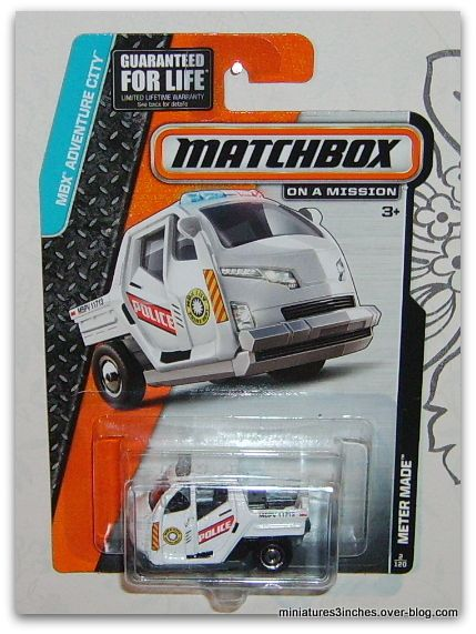 Meter Made  &quot&#x3B;Police&quot&#x3B;  by  Matchbox.