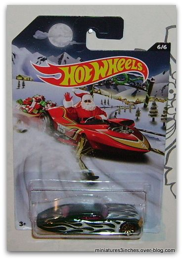 Série &quot&#x3B;Holiday Hot Rods&quot&#x3B;  collector 2015   by  Hot Wheels.