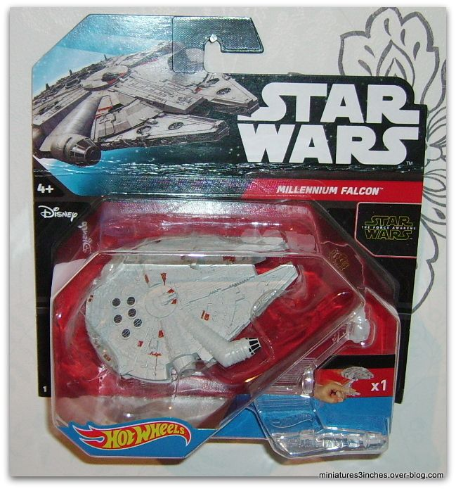 Millennium Falcon  by Hot Wheels.