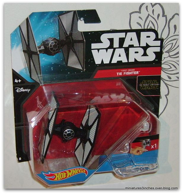 Tie Fighter &quot&#x3B;First Order&quot&#x3B;  by Hot Wheels.