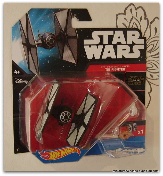 Tie Fighter &quot&#x3B;Special Forces&quot&#x3B;  by Hot Wheels.
