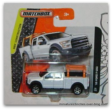 '15 Ford F-150  by  Matchbox.