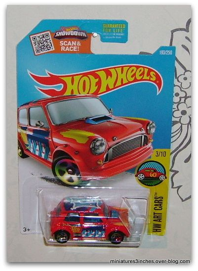 Morris Mini Cooper by Hot Wheels.
