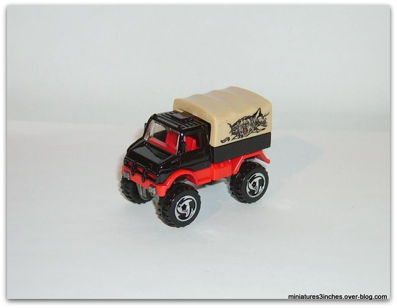 Mercedes Unimog by Hot Wheels.