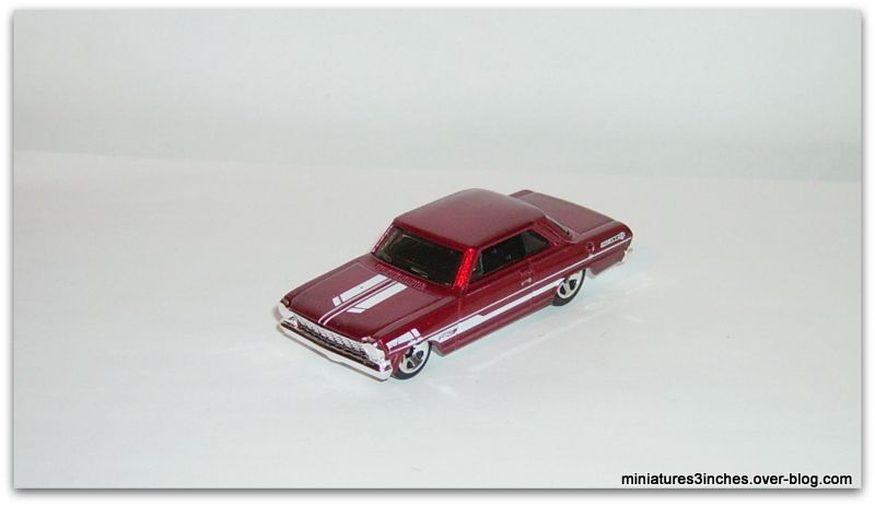 '63 Chevy II  by Hot Wheels.