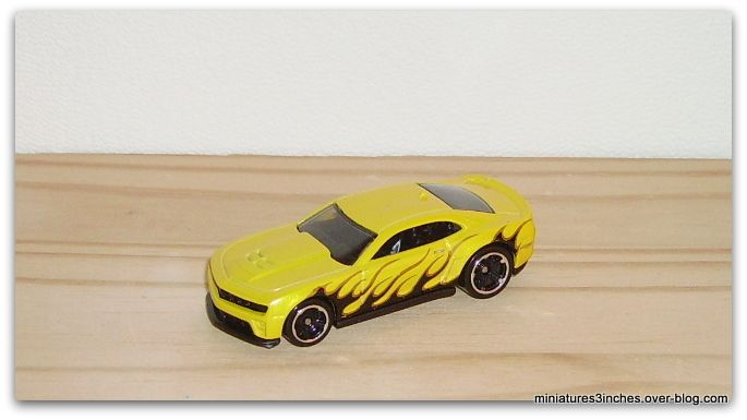 '12 Camaro ZL1 by Hot Wheels.