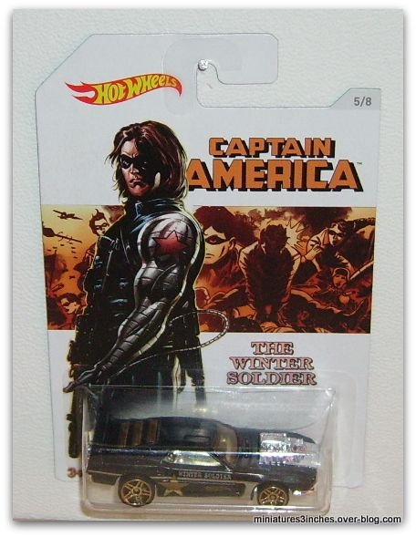 Collector 2016  &quot&#x3B;Série Captain AMERICA&quot&#x3B;   by Hot Wheels.